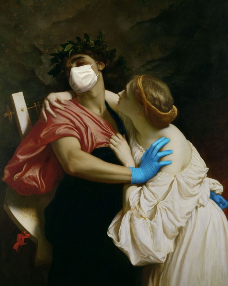 9 Classical Paintings Transformed Into Brilliant Anti-COVID AD Campaign