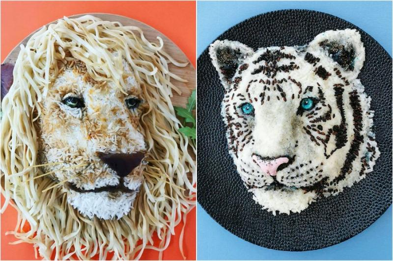 Mom From Belgium Creates Incredible Food Art