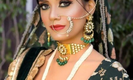 Stunning Bridal Makeovers By A Makeup Artist From New Delhi